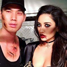 Pin for Later: Seht alle Halloween-Kostüme der Stars Shay Mitchell als Vampir
