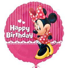 Happy Birthday Minnie Foil Balloon 18 Ballons 3rd