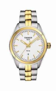 Now in stock Tissot PR 100 Silver Dial Two-Tone SS Quartz Ladies Watch T1012102203100