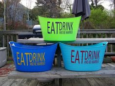 DIY Drinks Tubs