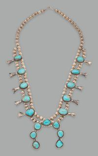A Navajo Squash Blossom Necklace... American Indian ArtJewelry and | Lot #70008 | Heritage Auctions