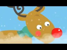 Rudolph The Red Nosed Reindeer Song - Christmas Songs for Kids. Pinned by Generation iKid. Christmas Songs For Kids, Preschool Christmas, Noel Christmas, Christmas Music, Reindeer Christmas, Christmas Videos, Christmas Parties, Christmas Cards, Reindeer Song