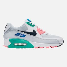 online store b7c97 639b3 Right view of Men s Nike Air Max 90 Essential Casual Shoes in  White Obsidian