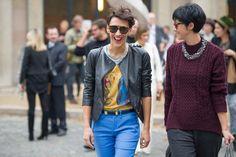 Street looks à Paris - Jour 8 Vogue, France