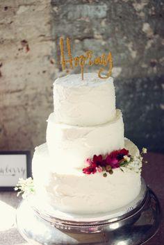 Hooray! cake topper | Alea Moore