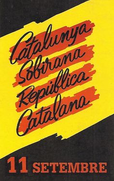 #adhesius #onzedesetembre #diada #Catalunya