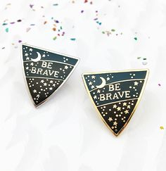 **NEW!** Be Brave Enamel Pin Badge £8.00 Colour Select an option Gold Plated Silver Plated 1 2 3 4 5 6 7 8 9 10 11 12 13 14 15 20 25 30 FREE SHIPPING on all badges!(Normal shipping applies when purchasing with other items from the shop…) A sweet protective shield shaped pinwith a...  Read more »