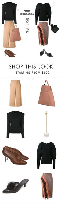 """""""BOLD SHOULDERS"""" by statuslusso ❤ liked on Polyvore featuring Jil Sander, Delfina Delettrez, Victoria, Victoria Beckham, TradeMark, Marco de Vincenzo and Federica Tosi"""