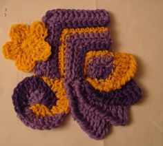 """scrumbling   Lion Brand """"Outside-the-Lines"""" Freeform Crochet Purse   Yarn Over ..."""