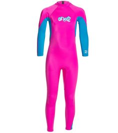 O'Neill Toddler Girls' O'Zone Back Zip Fullsuit at SwimOutlet.com - The Web's most popular swim shop