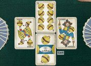 Swiss cards - jassen, or Jass. My favourite card game :) Radios, Swiss Card, Swiss People, Red Cross, Childhood Memories, Card Games, Switzerland, Travel Inspiration, Finding Yourself