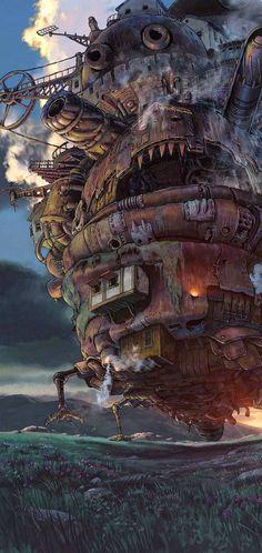 Howls moving castle wallpaper by lexvanduine - 23e4 - Free on ZEDGE™
