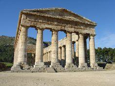 Templo griego en Sagesta