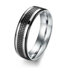 316L Stainless Steel Lovers Couple Rings for Wedding/Engagement/ Promise/Eternity Black Color Jewelrywe. $8.99. Width: 6mm for male; 4mm for female. Stainless steel rings for couples/lovers. Weight: 5g for male; 2.5g for female. List price is for one ring only. Purchase two rings for a matching set.