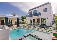 Escape to a 2,000 square foot roof top deck with a BBQ for a fancy night in the comfort of your own home or to your backyard with a Cabana & Baja pool for the perfect relaxation.