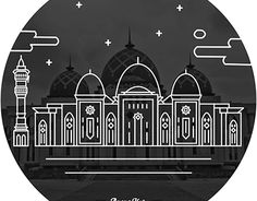 "Check out new work on my @Behance portfolio: ""Masjid Raya Baitul Izzah, Tarakan"" http://be.net/gallery/38552659/Masjid-Raya-Baitul-Izzah-Tarakan"