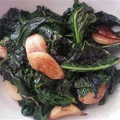 Garlic Kale Allrecipes.com