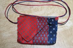 Small Shoulder Bag in Made From Recycled Silk by LulusCreations1
