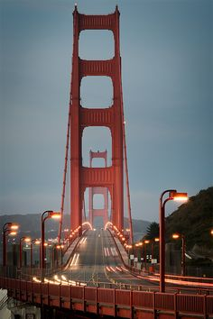 golden gate...When I went there years ago I was surprised in the color.  I really thought it was going to be yellow or gold.