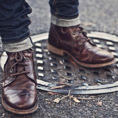 The Modern Gentleman: Abe boots by Caterpillar