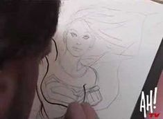 Anatomy of a sketch is a five part documentary following Adam Hughes at a New York comic convention, as he sketches for a fan. http://adamhughes.deviantart.com/
