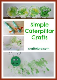Simple Caterpillar Crafts - Craftulate