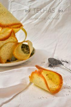 Faz & Come: Telhas de limão e sementes de papoila