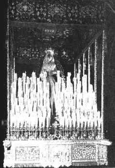 Virgen de la quinta angustia bajo palio