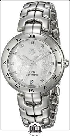 TAG Heuer WAT2311. BA0956Link de la mujer analógica Swiss automático plateado reloj  ✿ Relojes para mujer - (Lujo) ✿