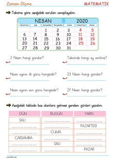 Learn Turkish, Turkish Language, Education, Math, Learning, Math Resources, Teaching, Training, Educational Illustrations
