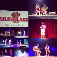 A huge well done to everyone who participated in the Silver Lake Talent Show tonight. We sure do have some talented campers and counselors! Awesome entertainment and performances! #gosilverlake #camptalent2014 #silverlakestars