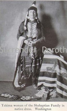 Yakima Woman Native People Photogravure by SurrendrDorothy, via Flickr