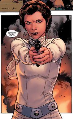 Princess Leia - Art by Jason Aaron & Stuart Immonen