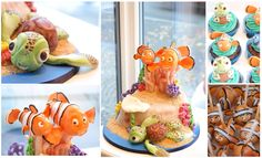 Nemo cake by cake lady
