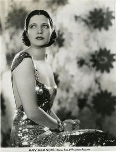 Kay Francis, Mandalay, 1934 (gown by Orry-Kelly)