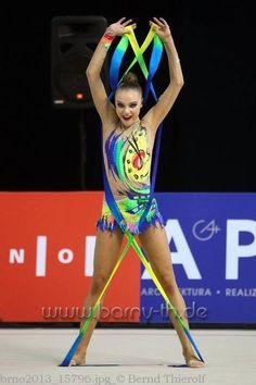 Daria Svatkovskaya, Russia, was the all-around bronze medalist at the 2013 Pesaro World Cup. At the 2013 European Championships together with her teammates (Kudryavtseva and Mamun) Svatkovskaya won the team gold medal.