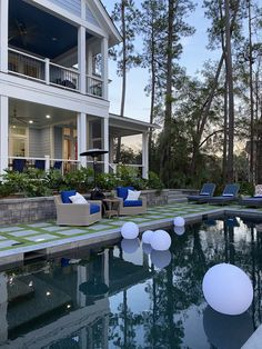 Pool of my desires Dream House 2020 – Trend Indoor Outdoor Living, Outdoor Living Areas, Outdoor Spaces, Hgtv Dream Home 2016, Hgtv Dream Homes, Belgard Pavers, Wooded Landscaping, Exterior Doors With Glass, Farmhouse Renovation