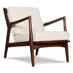 Amazon.com: Eisenhower Mid Century Modern Chair: Home & Kitchen