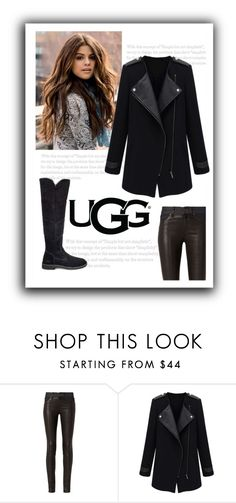 """The New Classics With UGG: Contest Entry"" by patricia-dimmick ❤ liked on Polyvore featuring rag & bone, UGG and ugg"