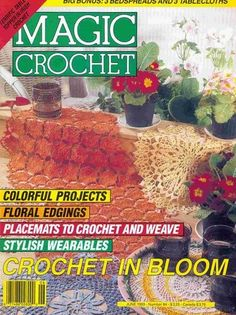 Magic Crochet N°84-1993 - Tere de la Tejera - Álbuns da web do Picasa.. Free magazine!