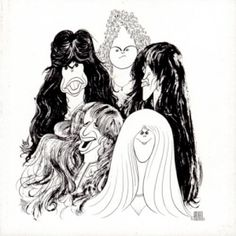 Aerosmith - Draw the Line - 1977.  Weakest effort of the 70's after two primo albums in Toys and Rocks.