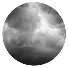 Cloudy Water Art Print ($21) ❤ liked on Polyvore featuring home, home decor and wall art