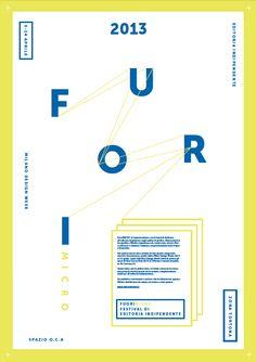 Report FuoriMicro (Milan design week 2013) by Eleonora Errigo, via Behance