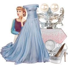"""Masked Ball - Cinderella"" by annabelle-95 on Polyvore"