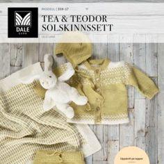 DG359-01 Malene Genser & tights – Dale Garn Knitting For Kids, Tights, Retro, Children, Coat, Jackets, Hardanger, Threading, Navy Tights