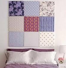 cabeceira de cama tecido - Telas forradas com tecidos
