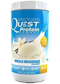 Quest Protein Powder Vanilla Milkshake Flavor by Quest Nutrition