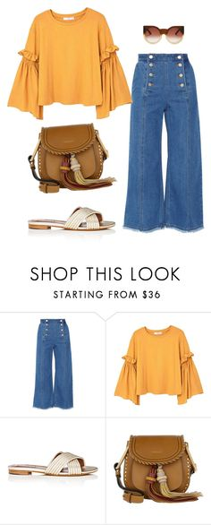 """Untitled #2661"" by applelula on Polyvore featuring Steve J & Yoni P, MANGO, Tabitha Simmons, Chloé, Wildfox, moda, trends and outfitideas"