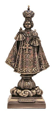 Infant of Prague Jesus Child Statue - Veronese Collection