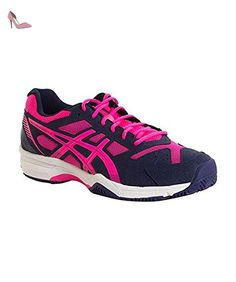 ASICS GEL PADEL EXCLUSIVE 4 SG BLEU MARINE FUCHSIA - Chaussures asics (*Partner-Link)